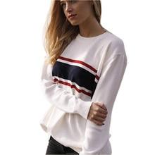 Germinate Stripe Knitwear Sweater Pullover Autumn Winter Women Casual Turtleneck Jumper White Elasticity Christmas Oversized