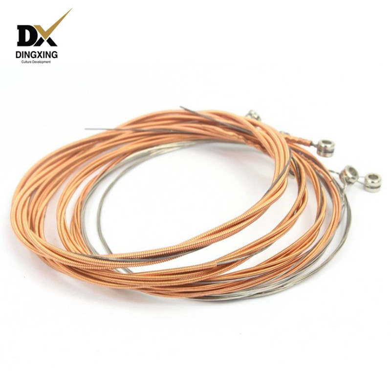 Acoustic guitar string set wholesale musical Stringed instruments 6 or 12 strings parts & accessories Custom guitarra OEM