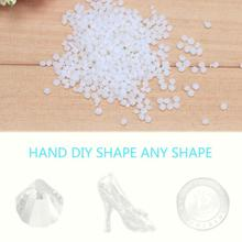 50g Friendly Thermoplastic Plastic Environmental Protection Reusable Light Weight DIY Polymorph Polycaprolactone Pellet
