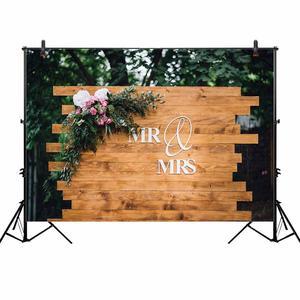 Image 3 - Allenjoy photographie toile de fond rustique mariage paillettes fleur plancher en bois fond anniversaire saint valentin Photozone décor