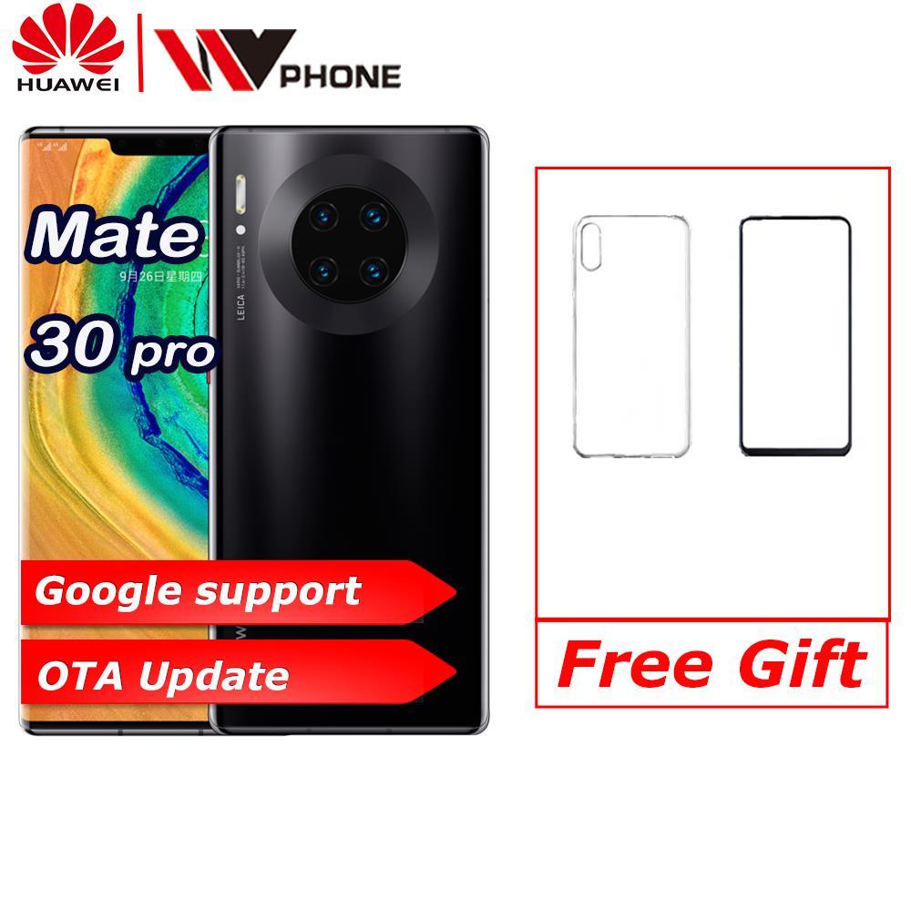 HUAWEI Mate 30 Pro Del Cellulare 6.53 pollici Kirin 990 Octa Core Android 10 in Gesto dello schermo Sensore di Google play NFC