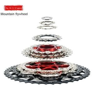 Bicycle flywheel 9 10 11 12 speed mountain bike bicycle flywheel bracket sprocket 40T 42T 46T 50T 52T bicycle flywhee
