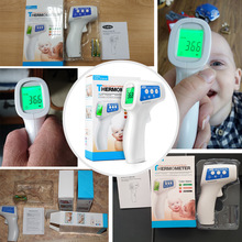 Cofoe Non-contact body thermometer Forehead Digital Infrared Thermometer Portable Non-contact Termometro Baby/Adult Temperature