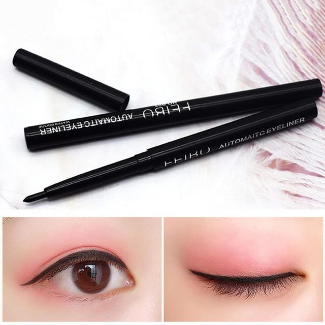 1Pcs Black Liquid Eyeliner Quick-drying Waterproof Long-lasting Eye Liner Not Blooming Eye Pencil Makeup Comestic Tool TSLM1