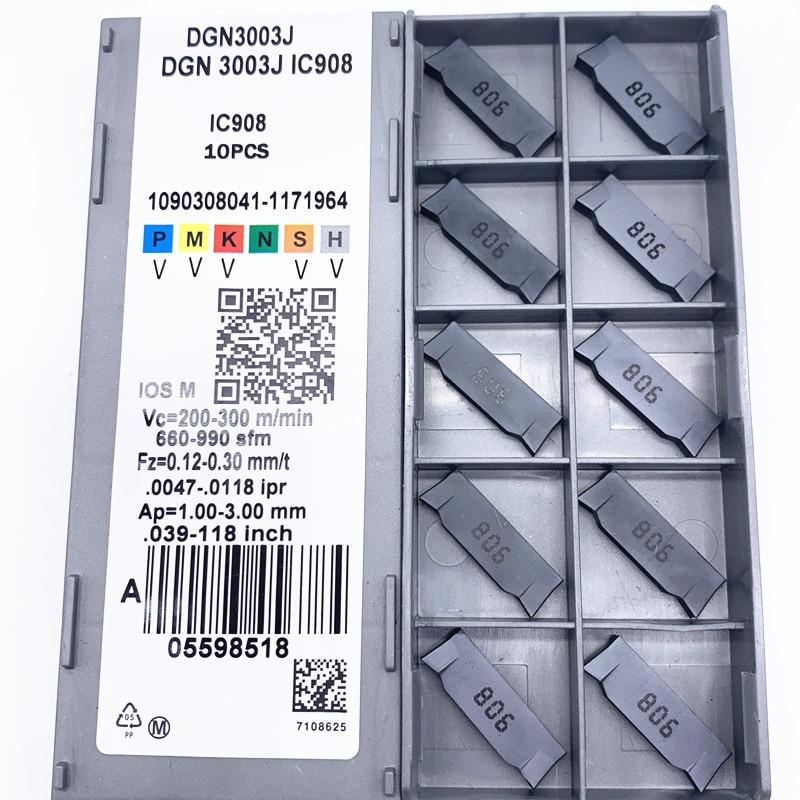 10pcs DGN3003J IC908 Carbird Inserts