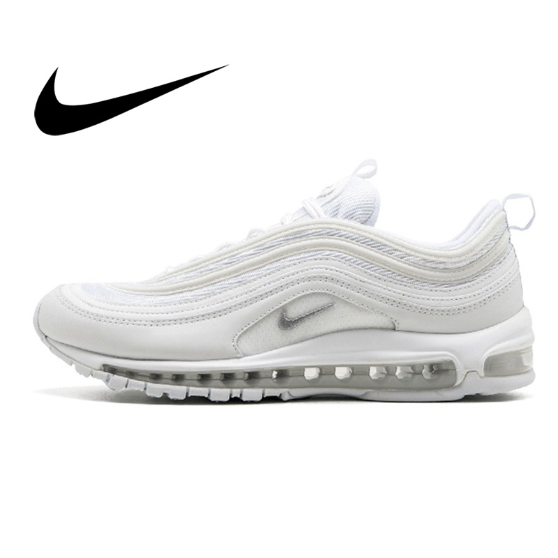 Original Authentic Nike Air Max 97 LX Men's Running Shoes Outdoor Sports Shoes Trend Breathable Quality Comfortable New 921826