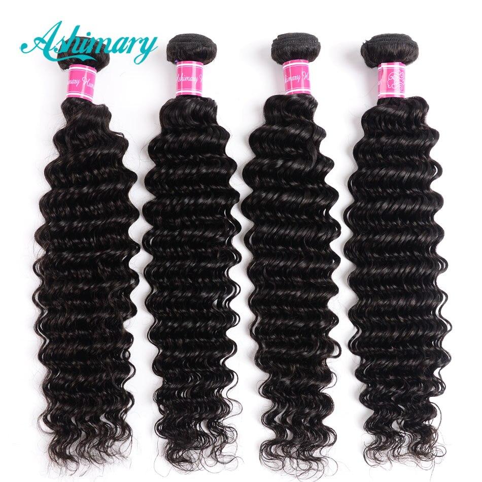 H225f26c43f76490593d0e94e2e226bccW Ashimary Deep Wave Brazilian Hair Bundles with Frontal Remy Hair 2/3/4 Bundles with Frontal Human Hair Bundles with Lace Frontal