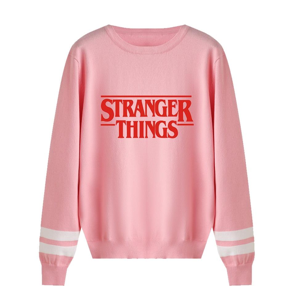 Hip Hop Cute Stranger Things Kpop Sweater Men/women Print Casual Harajuku Kid's 0-neck Sweater Children Tops