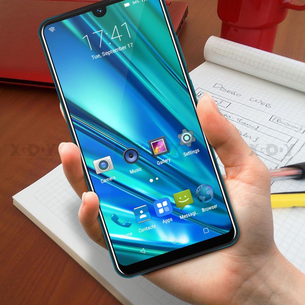 XGODY 9T Pro 3g мобильный телефон 2800 мАч 2 Гб 16 Гб 6,26 ''QHD экран MTK6580 четырехъядерный Android 9,0 капля полный экран смартфон