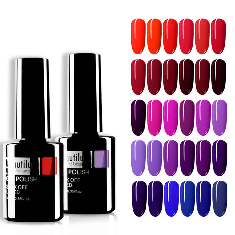 Lot de vernis à ongles Gel de beauté 001-120 vernis à ongles Semi Permanent à LED UV vernis à ongles en gros 10ml