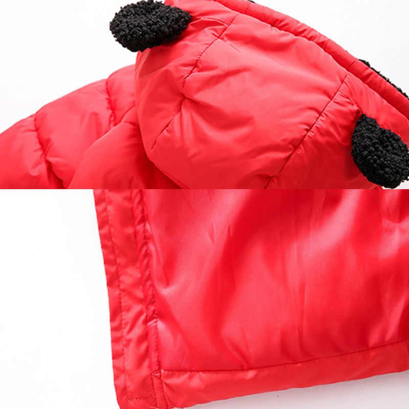 חורף ילדי מעיל בני תינוק חם למטה מעיל ילדים אופנה הלבשה עליונה לילדים של חג מולד תלבושות שמלה עבור בנות מעיל
