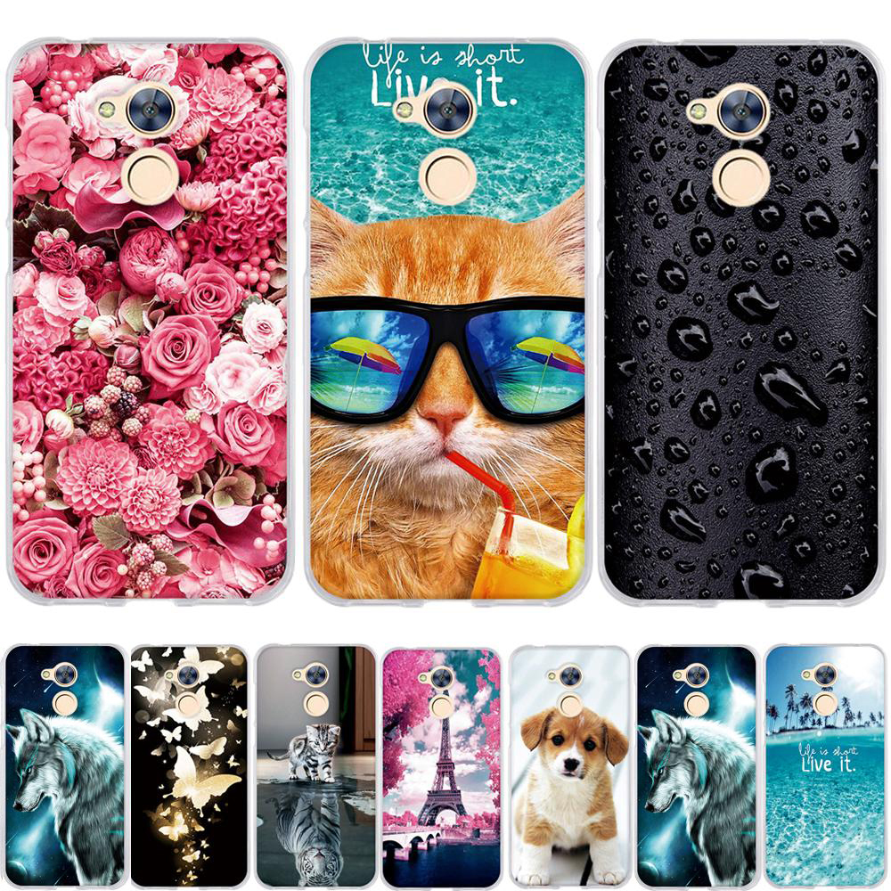 """Phone Case for Huawei Honor 6A Case Covers for Honor 6A Cover 3D TPU Soft Silicone fundas Bag for Huawei Honor 6A 5.0"""" Cases"""