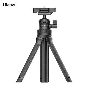 Image 1 - Ulanzi MT 34 extensível selfie vara tripé handheld fotografia suporte tripé com 1/4 Polegada parafuso de montagem para vlog ao vivo