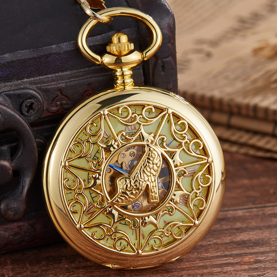 Hollow Exquisite Mechanical Pocket Watch Carved Female High Heels Engraved Watch Hand Winding Fob Wathces Chain Necklace Pendant
