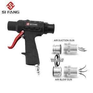 Image 3 - Kit de pistola maravilla de aire, doble función, pistola de soplado al vacío, Kit de aspiradora neumática, Kit de pistola de succión de soplado de aire, herramientas