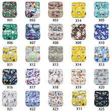 Baby Cloth Diapers Washable Diapers Baby Diapers Pants Ajustable Diaper Pants Toilet Pants Brushed Diaper Cloth Diaper(China)