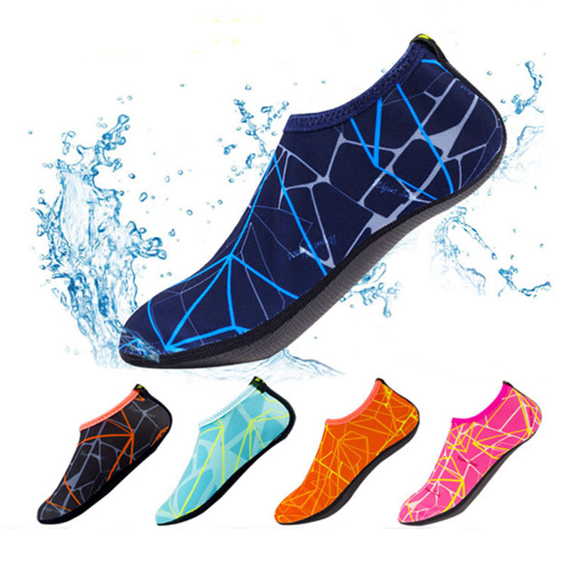 Men Ad Women Summer Quick-drying Diving Socks Swimming Shoes Snorkeling Beach Socks Coral Shoes Male Parent-child Models 24-46