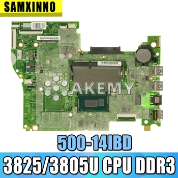 For Lenovo YOGA 500 -14IBD FLEX3-1470 YOGA500-14IBD Laptop motherboard 448.03N03.001M CPU 3825/3805U DDR3 100% test OK