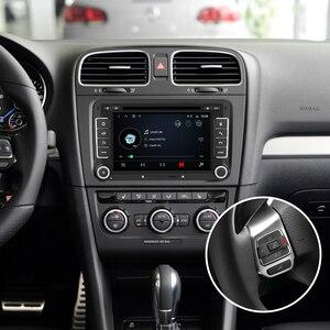 Image 3 - Isudar 2 דין אוטומטי רדיו אנדרואיד 9 עבור פולקסווגן/גולף/Tiguan/סקודה/פאביה/מהיר/מושב/ליאון/סקודה רכב GPS מולטימדיה אוקטה Core ROM 32GB DVR