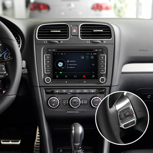 Image 3 - Isudar 2 Din Auto Radio Android 9 For VW/Golf/Tiguan/Skoda/Fabia/Rapid/Seat/Leon/Skoda Car GPS Multimedia Octa Core ROM 32GB DVR