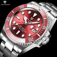 Luik Ontwerp Highmineral Glas 40Mm Keramische Gmt Mechanische Horloges 100M Waterdicht Klassieke Mode Luxe Automatische Horloge Voor Mannen