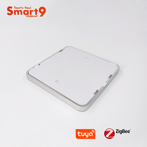 Image 4 - Interruptor de batería Smart9 ZigBee, que funciona con el concentrador TuYa ZigBee, Interruptor táctil Sticker Smart Life App Control, alimentado por TuYa