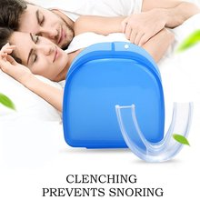 Silicone Stop Snoring Anti Snore Mouth mouthpiece Guard Stop Teeth Grinding Tray Sleeping Aid Stop Snoring Tool stopper
