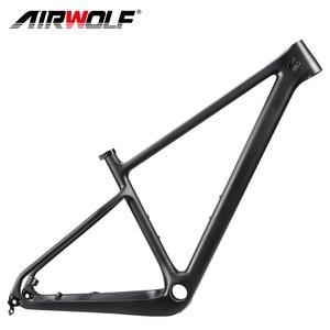 2020 29er carbon mountain bike frame.full toray T1000 carbon hardtail mtb frame with 135*9/142*12mm hook XC carbon mtb frame(China)