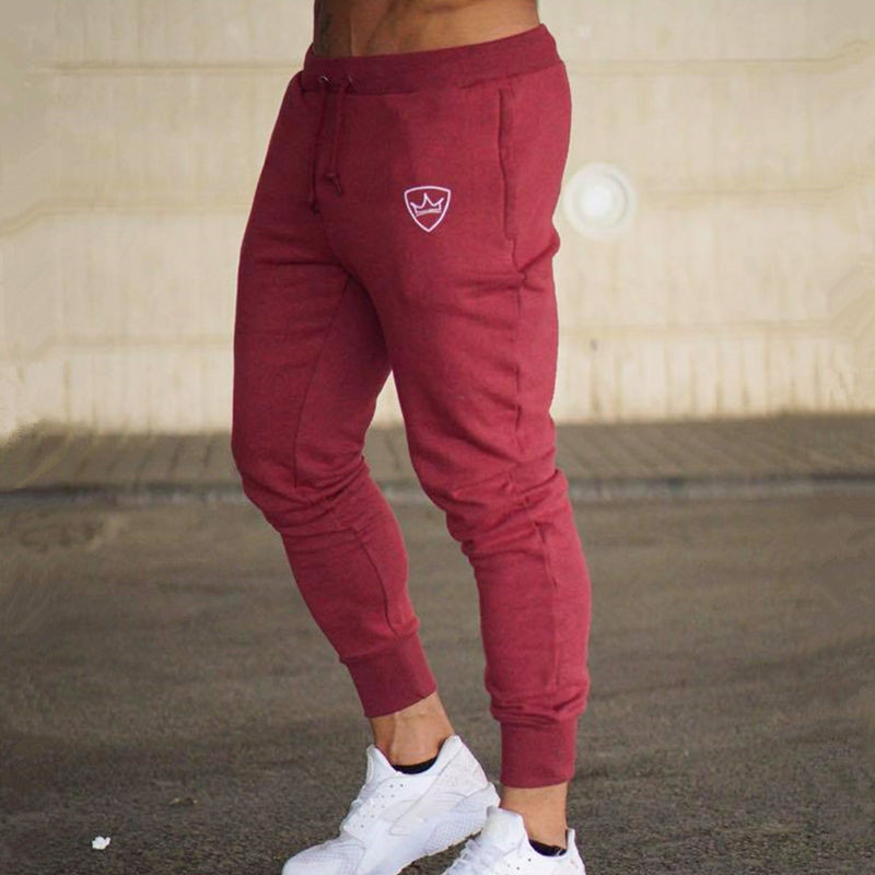 Spring And Summer New Men's Jogging Pants Sports Fitness Pants Soft Stretch Running Pants Fitness Cotton Men's Trousers