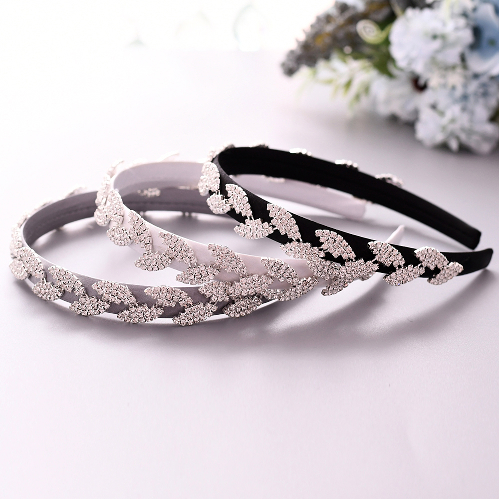 TRiXY S198-FG rhinestone hair band Baroque headband wedding accessories wedding tiara forehead jewelry bridal hairpieces