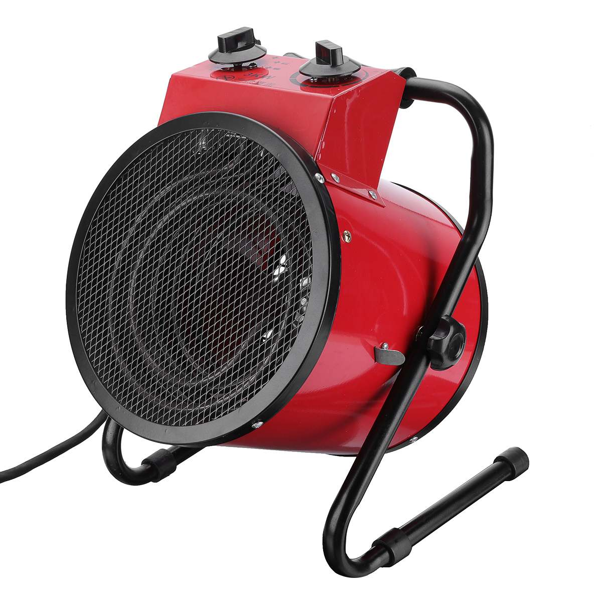 3000W Industrial Electric Heater Fan Commercial Warm Heater Blower Air Workshop Space Garage Heating Appliances 220V Adjustable