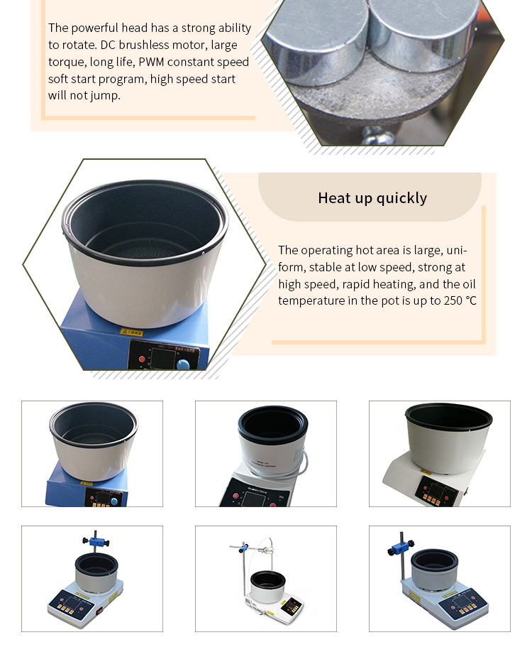 H22619bb485464b6382ff85cb9c639501J - Laboratory Equipment Magnetic Stirrer Electric Thermostat Heating Pot
