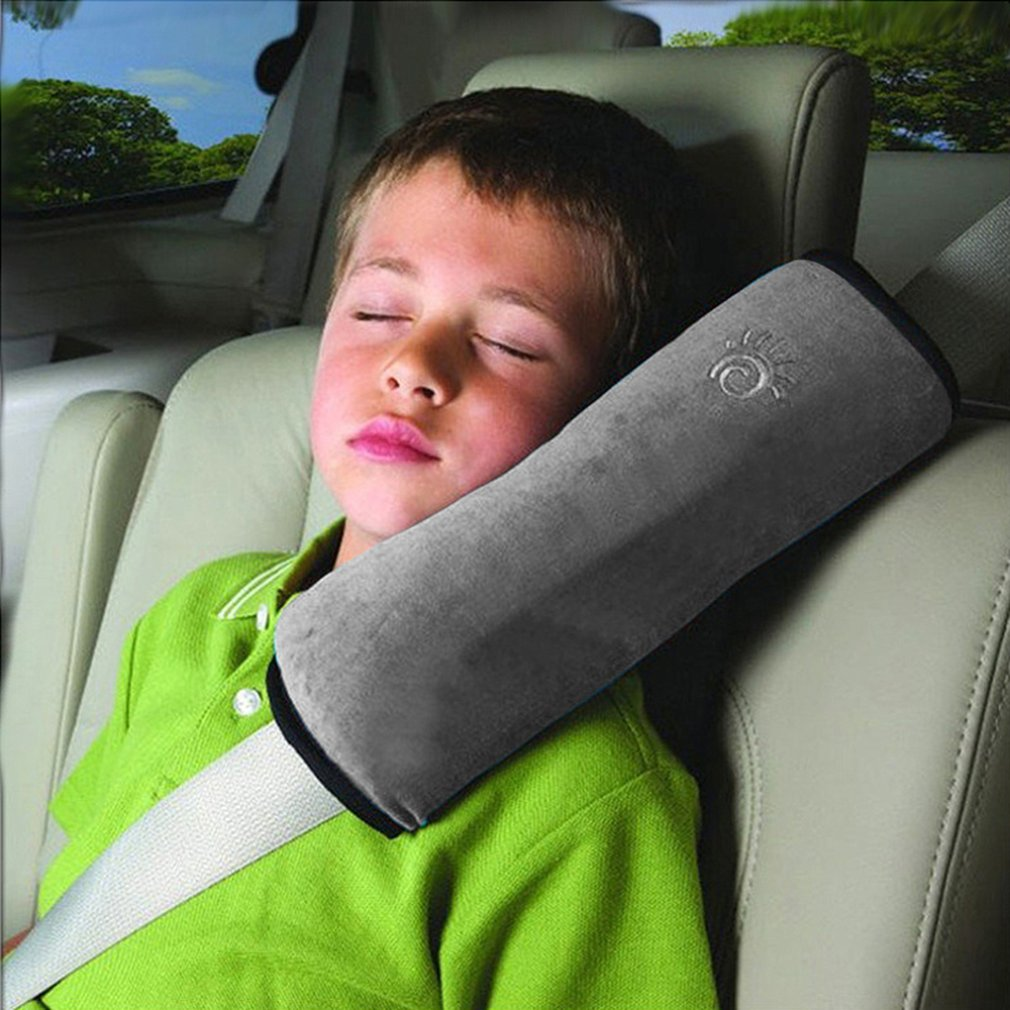Coussins Ceintures de S/écurit/é Oreiller Auto Amovible Oreiller de Voyage Enfant Safety Belt Protector Cushion Pour Enfants Oreiller de S/écurit/é Pour Prot/éger Cou//Epaules