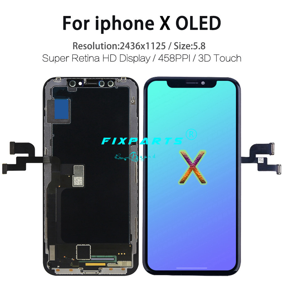 iPhone X XS XR XS Max OLED With 3D Touch Digitizer Assembly
