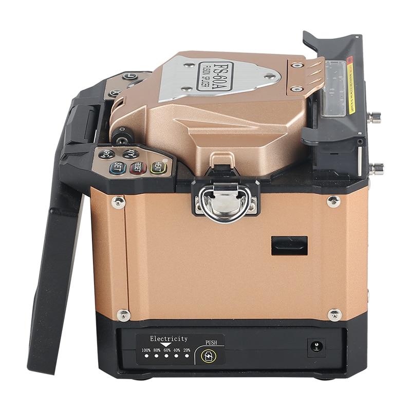 FS-60A Золотой автоматический сварочный аппарат волоконно-оптический сварочный аппарат машина для сращивания оптического волокна