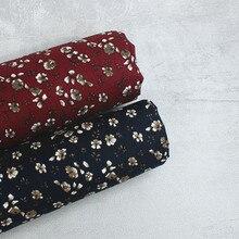 147x50cm tecido impresso floral 100% tecidos de algodão por metro retalhos costura para vestuário vestido blusa diy acessórios artesanais