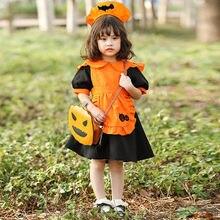 Милый костюм горничной из тыквы; Карнавальный на Хэллоуин для