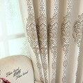 Новые серые шторы для гостиной столовой спальни Простые высокоточные жаккардовые затемненные шторы