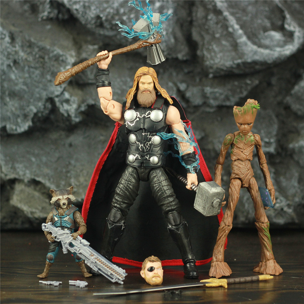 Marvel Legends Thor Racoon 6