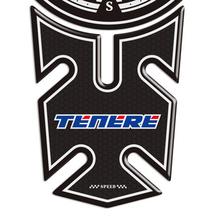 1200 TENERE 700 1200XT 1200Z For YAMAHA Tank Pad Protector 3D Stickers ADVENTURE TOURING SUPER Sticker Decal Fuel Gas Anti Slip(China)