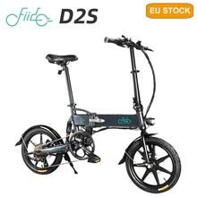 Fiido D2S – vélo de ville électrique pliant, 6 vitesses, pneus de 16 pouces, moteur 250W