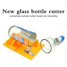 2 em 1 multifuncional dupla finalidade cortador de garrafa vidro diy cozinha corte ferramentas máquina cerveja vinho com chave fenda