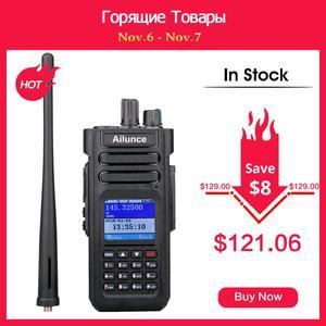Image 1 - RETEVIS Ailunce HD1 DMR радио цифровая рация (gps) ветчина радио Amador 10 Вт УКВ двухдиапазонный IP67 Водонепроницаемый двухстороннее радио