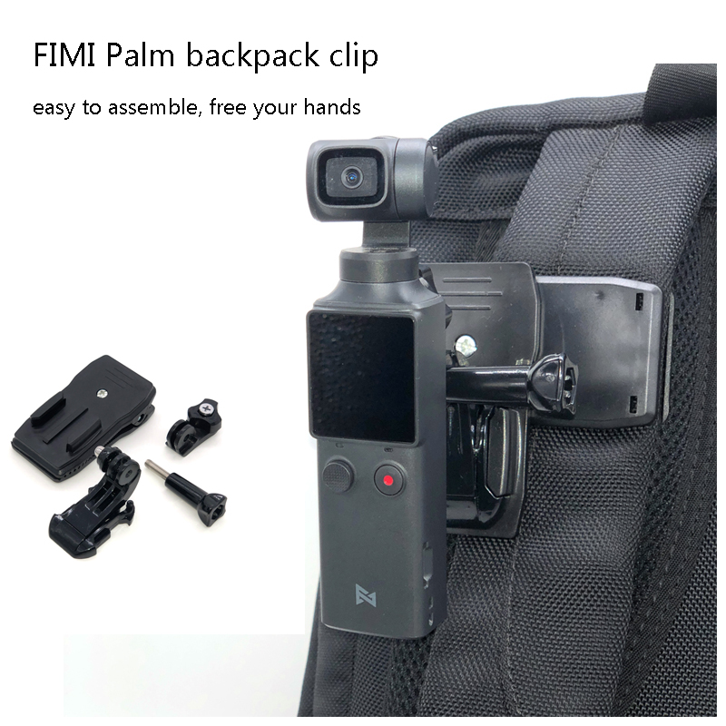 FIMI PALM Backpack Holder Mount Clip Stand Bracket Adapter Stabilizer For FIMI PALM Handheld Aerial Gimbal Camera Accessories