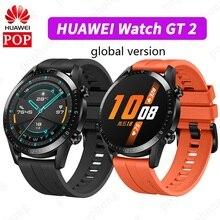 HUAWEI שעון GT 2 הגלובלי גרסה חכם שעון Bluetooth Smartwatch 5.1 דם חמצן קצב לב שינה 14 ימים סוללה חיים