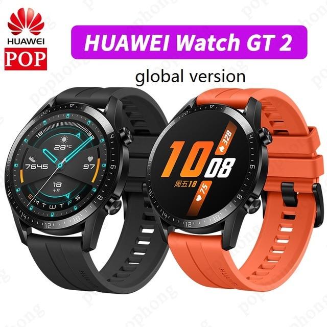 HUAWEI Watch GT 2 Global Version Smart Watch Bluetooth Smartwatch 5.1 Blood Oxygen Heart Rate Sleep 14 Days Battery Life