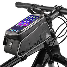 Bicycle Phone Holder Bag Accessories Mobile Stand Case for iphone 11 Pro XR Samsung S10 S9 Plus Cover Waterproof Bike Phone Bag