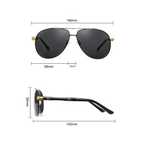 Image 5 - Hohe Qualität Legierung Pilot Sonnenbrille Männer polarisierte UV400 Sonnenbrille Herren Fahren Sonnenbrille Mann Sonnenbrille 2020 oculos Mit Box sunglasses men sun glasses man sunglass mens