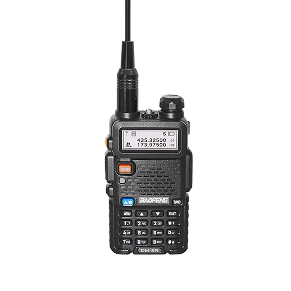 Handheld Baofeng DM-5R Digital Walkie Talkie Professional VHF/UHF Dual Frequency Interphone Radio Intercoms
