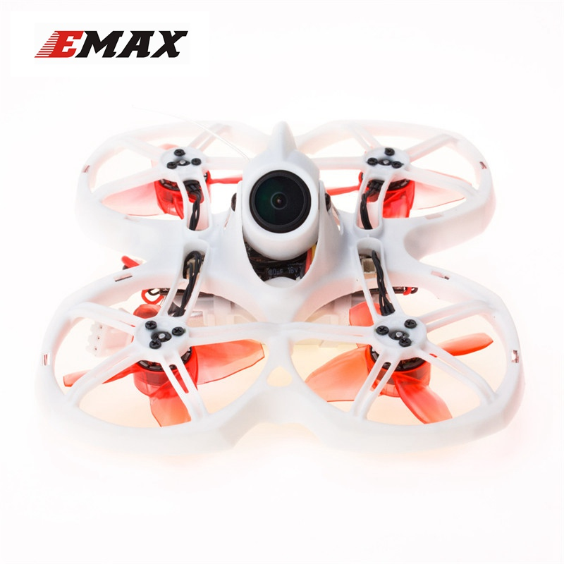 EMAX Tinyhawk II 75mm 1-2S Whoop FPV Racing Drone RC Quadcopter BNF FrSky D8 Runcam Cam 25/100/200mw VTX 5A Blheli_S ESC RC Toys
